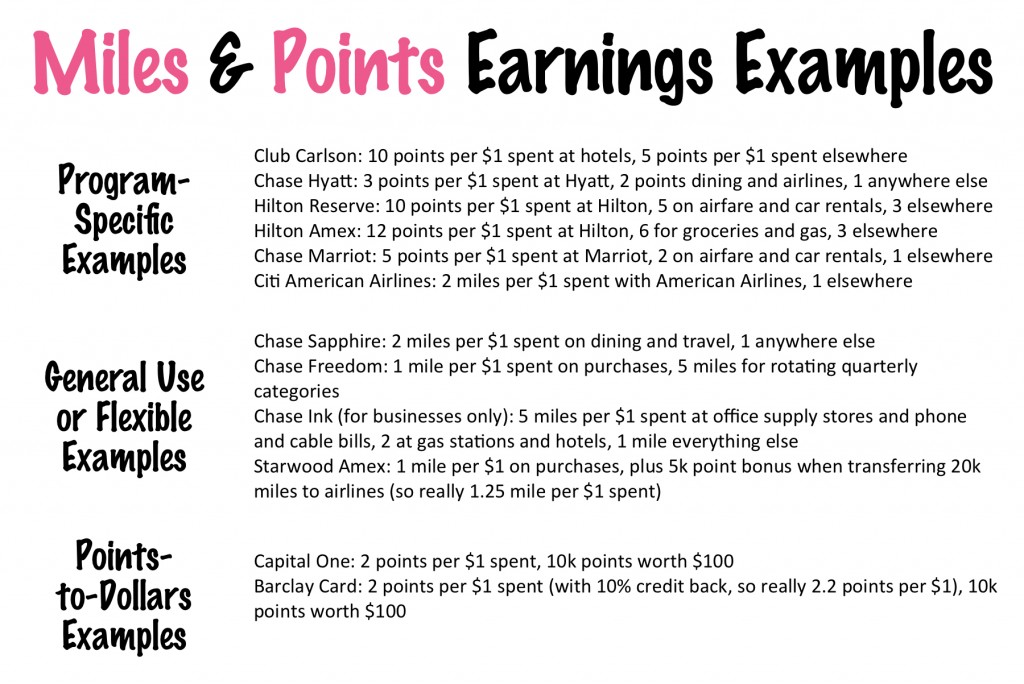 Miles and Points 102: Earning and Redeeming
