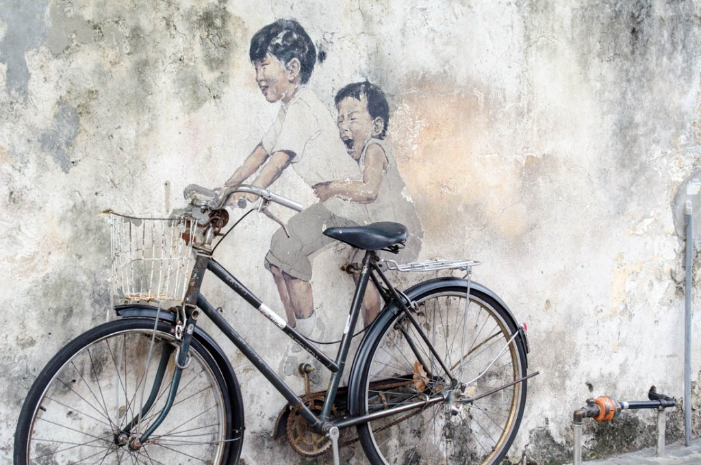 Hitting the Streets in Penang, Malaysia