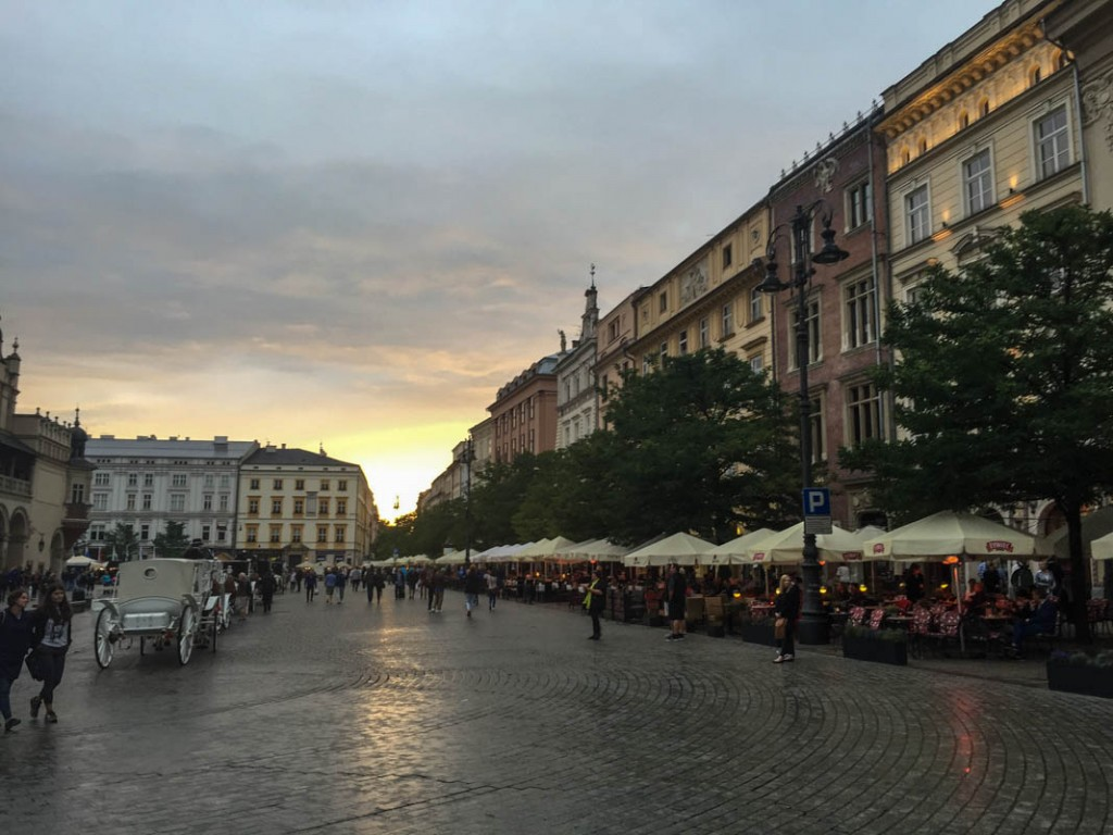 The Golden Age and Dark Days of Krakow