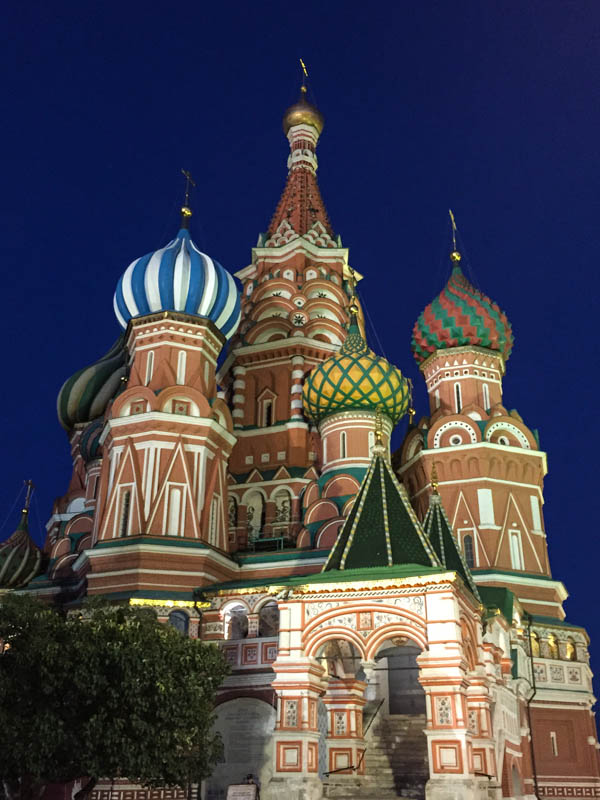 Marveling in Moscow