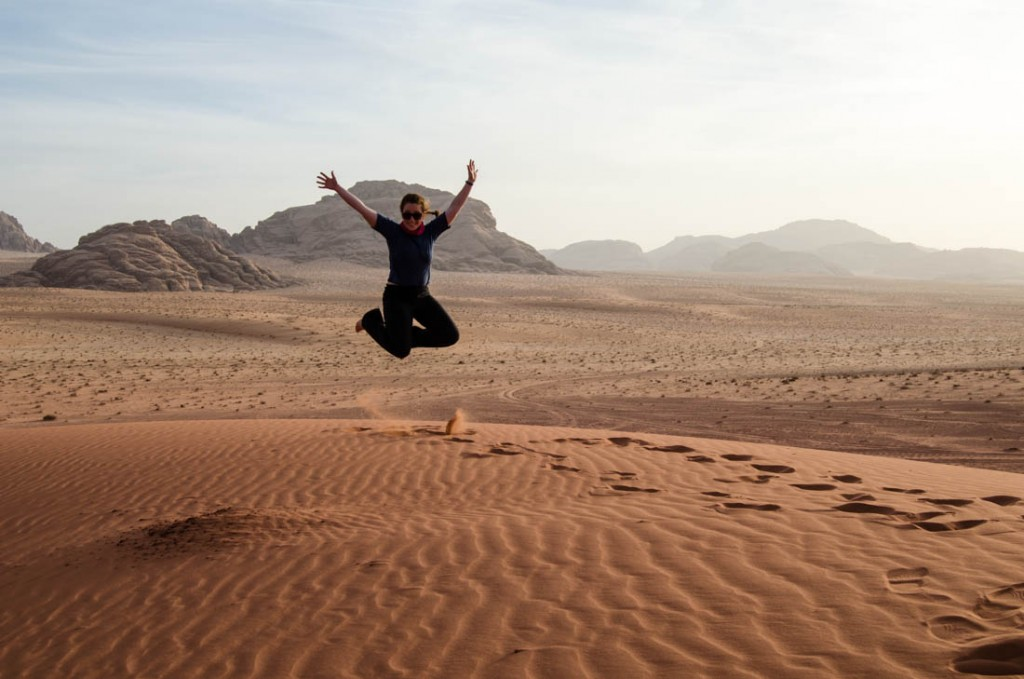 Lauren of Arabia and the Best Day Ever in Wadi Rum