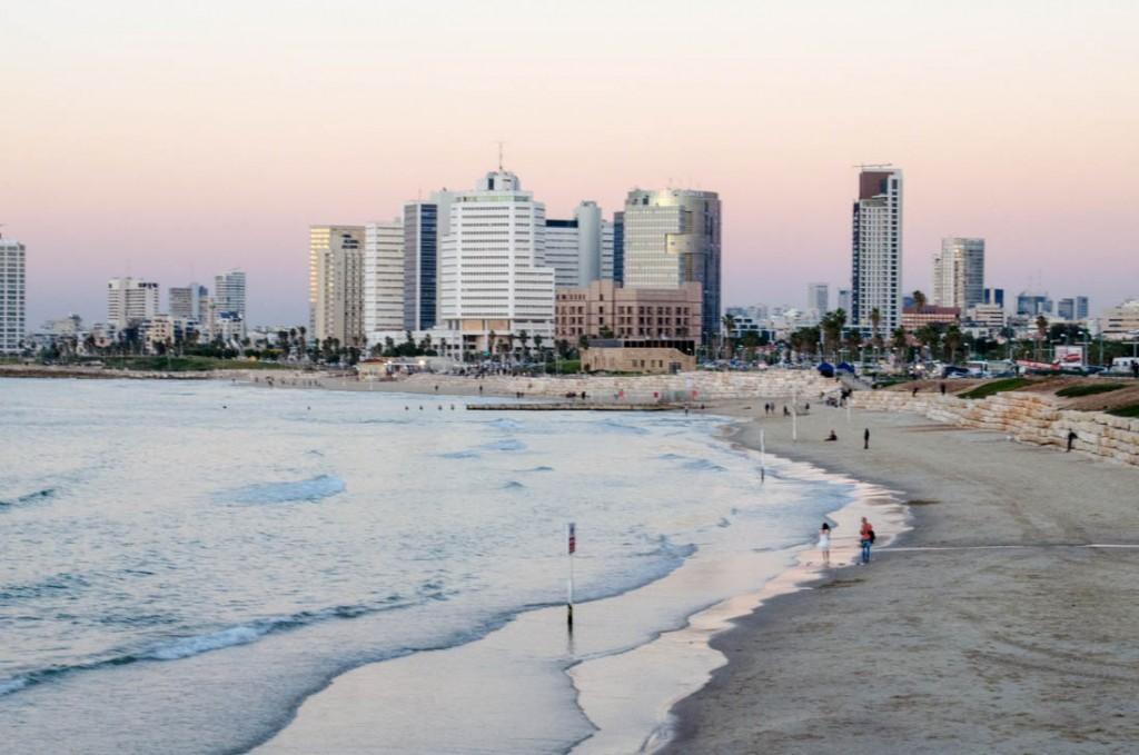 Tel Aviv During Hanukah